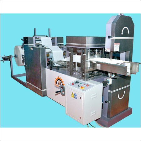 Double Embossing Tissue Making Machine