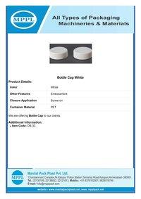 Bottle Cap White