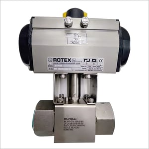 High Pressure Actuated Ball Valve