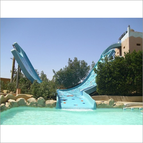 Half Funnel water Slide