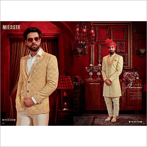 Mens Sherwani Suit Fabric