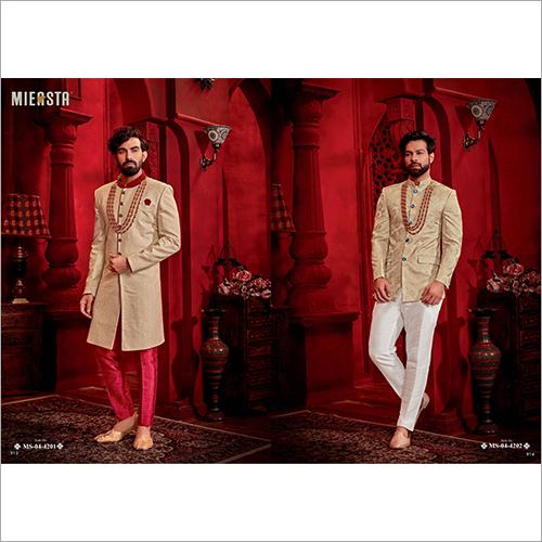Modern Ethnic Sherwani Fabric