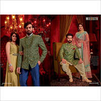 Mens Silk Sherwani Fabric