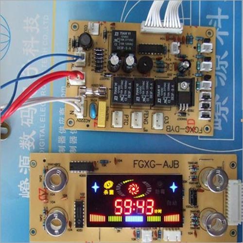 Electronic Shoe Cabinet Control Panel