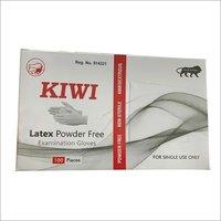 Latex Powder Free Examination Gloves