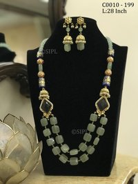 Amazing Design Tumble Stone Mala Set