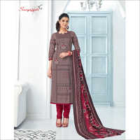 Party Wear Churidar Suit