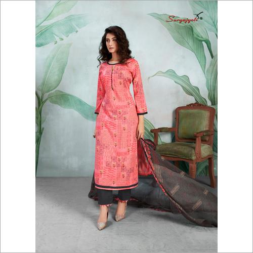 Stylish Cotton Palazzo Suit