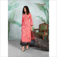 Stylish Cotton Palazzo Suit