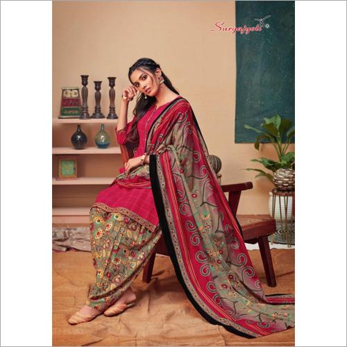 Party Wear Printed Salwar Suit