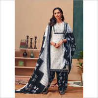 Fashionable Printed Salwar Suit