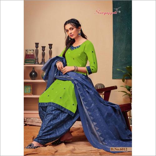 Trendy Printed Salwar Suit