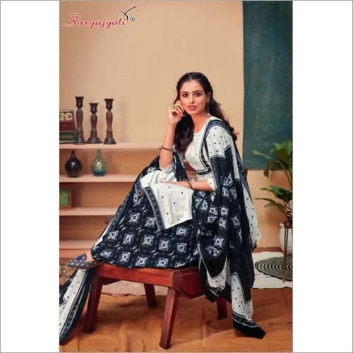 Fashionable Printed Salwar Suit