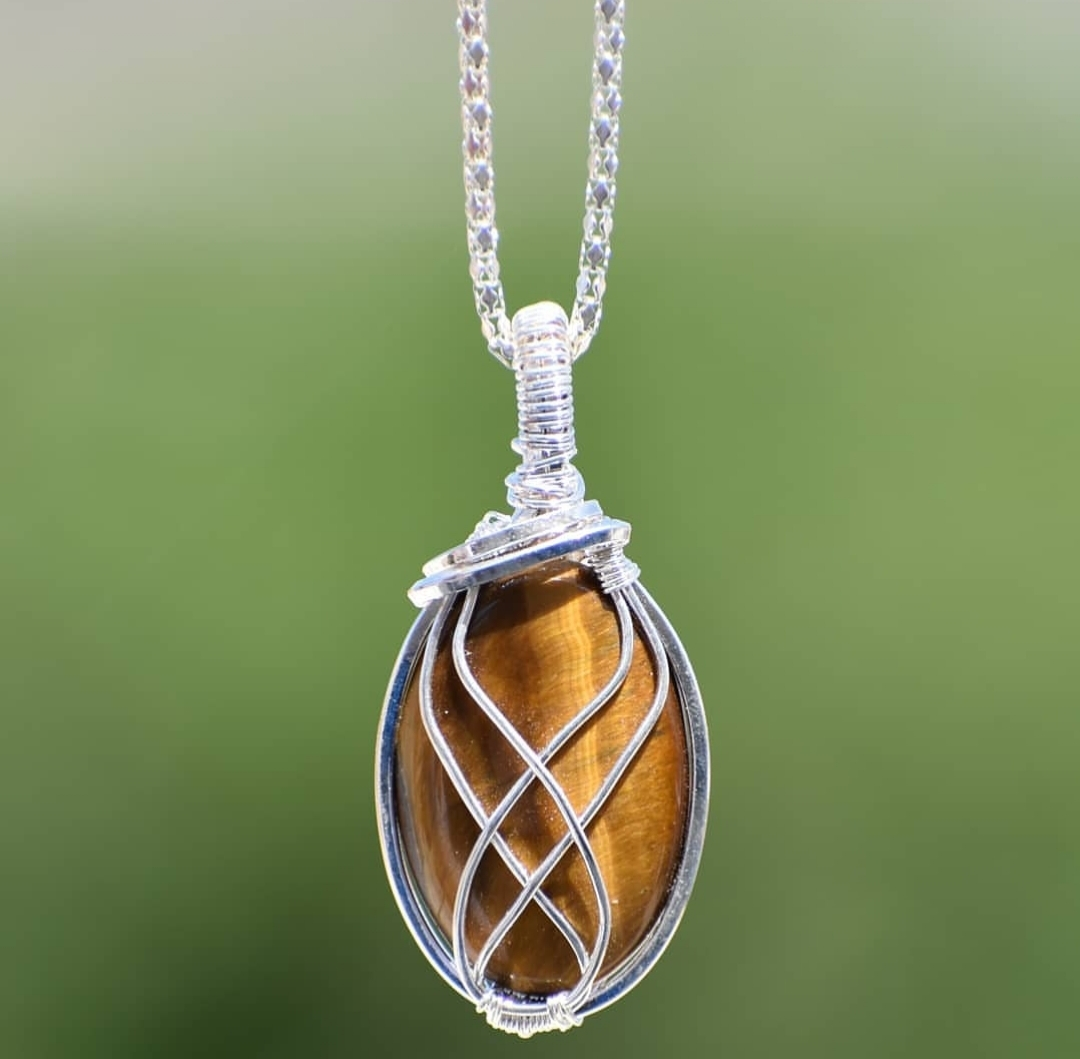 Amythyst Wrapping Pendant