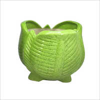 Ceramic Lotus Shape Flower Pot