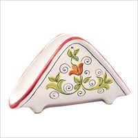 Ceramic Napkin Stand