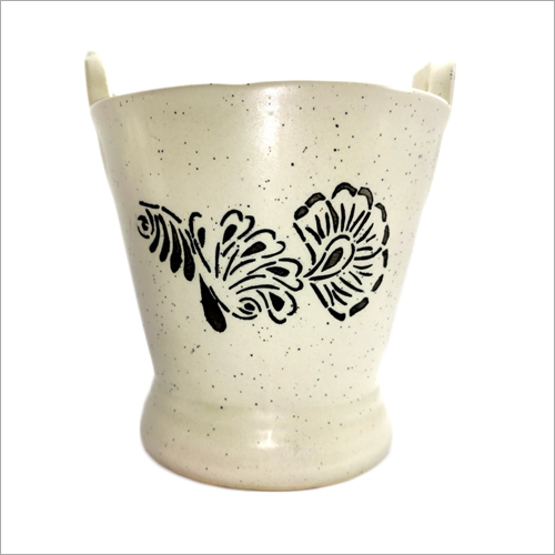 Ceramic Mini Bucket Pot