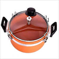 Terracotta Cooker With Glass Lid
