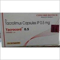 Tacrolimus Capsule for Nephrology 0.5 mg