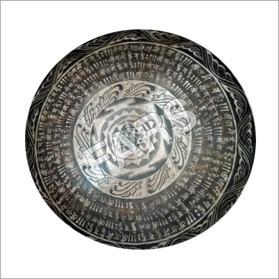 Mantra Carved Gong