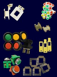 Push Buttons, Fiber, Contactor Coil Bobbins, Tention Patti , Indicators