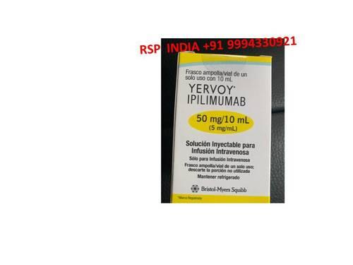 YERVOY IPILIMUMAB 50MG-10ML SOLUTION