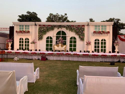 Simple Wedding Stage