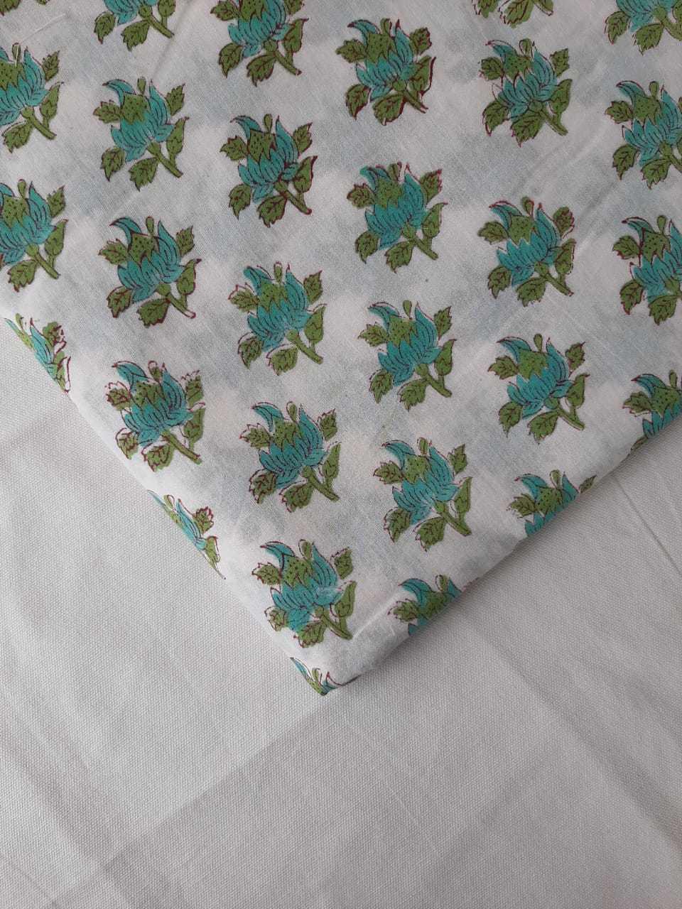 Hand Block Printed Fabrics