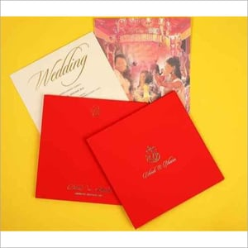 Photo Printing Wedding Card