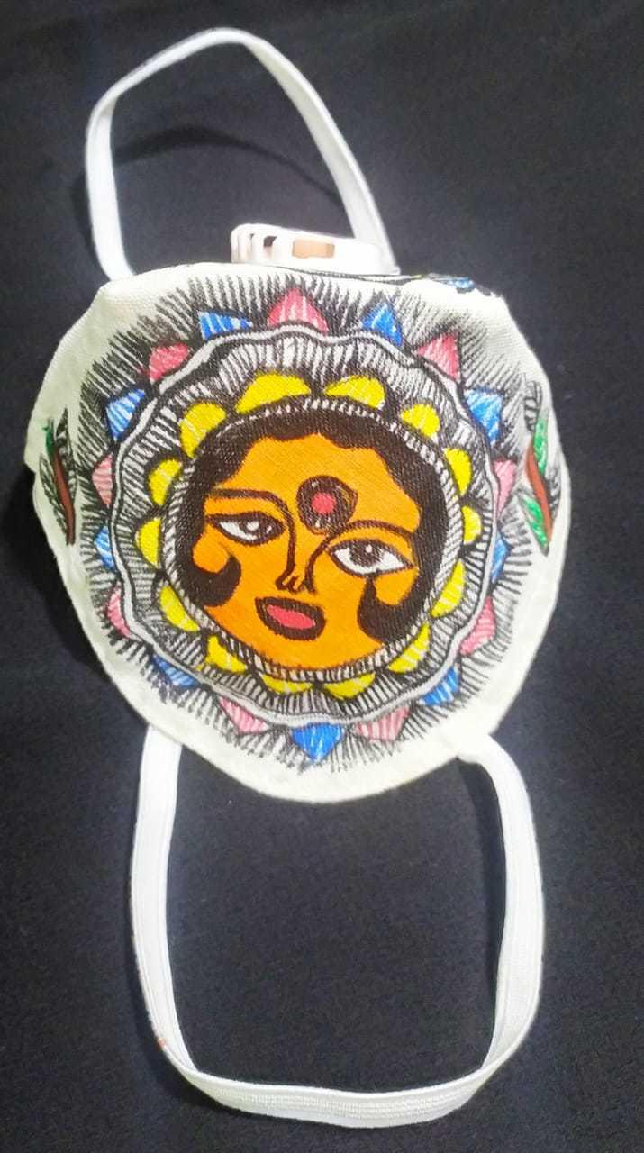 Mithila Painting Mask
