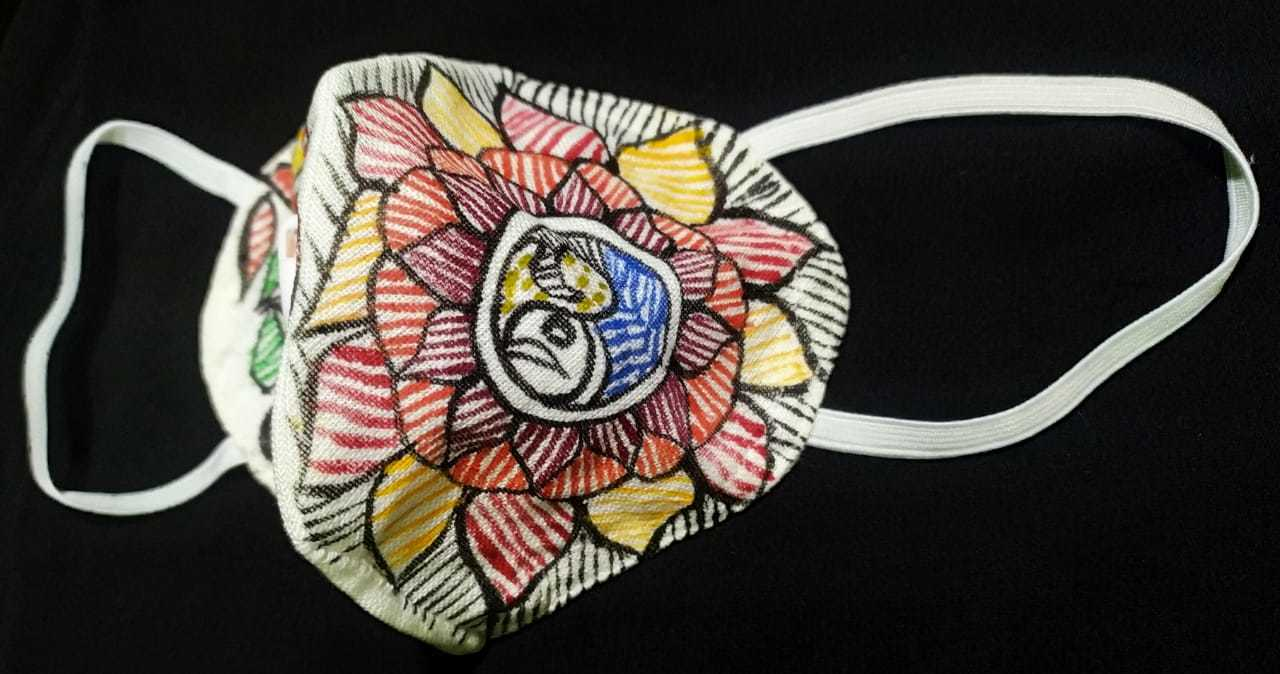 Mithila Painting Mask