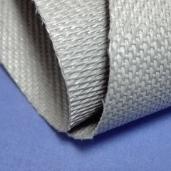 860grams grey silicone coated fiberglass fabric