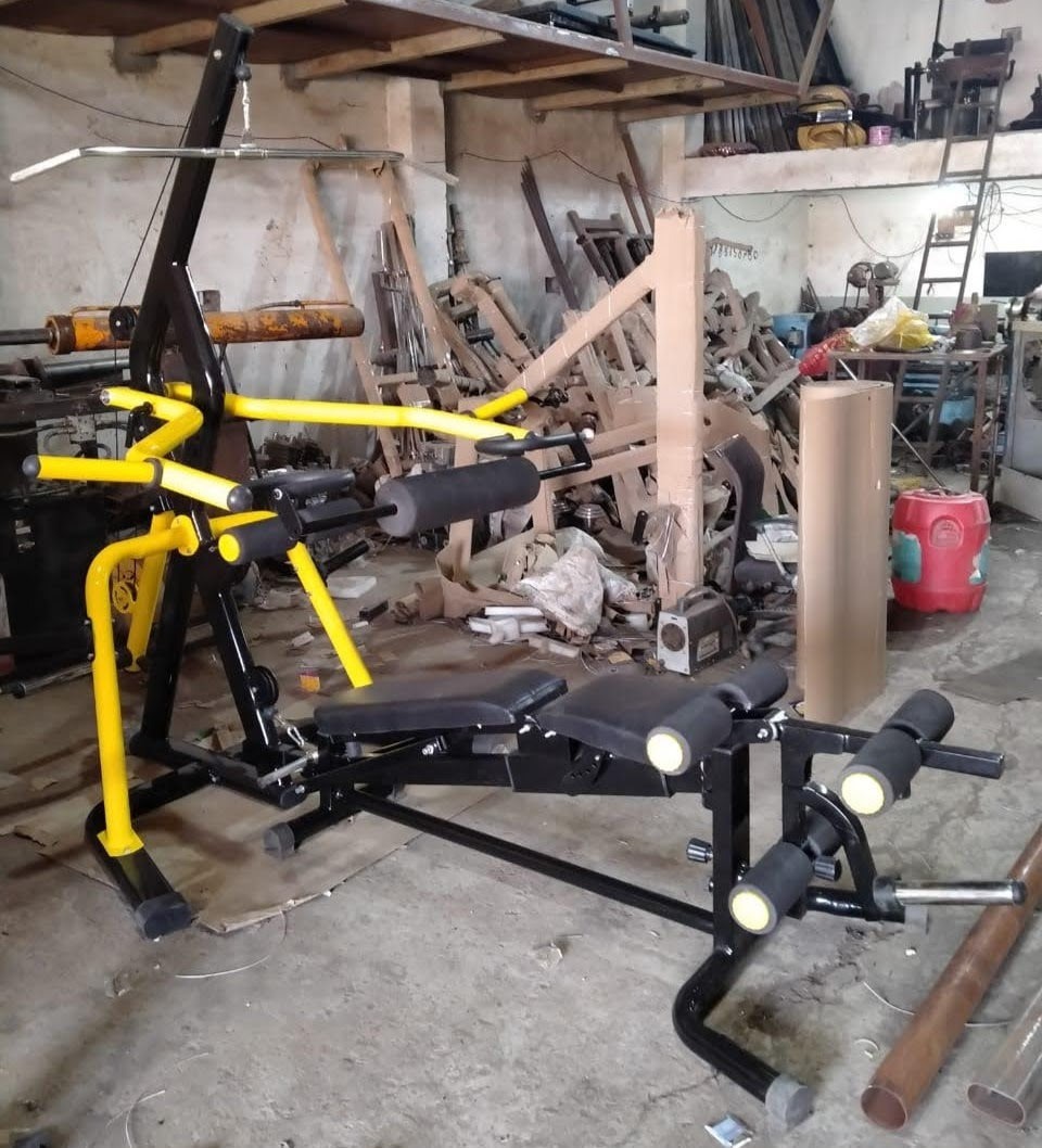 Weight Plate Loaded Home Gym Machine