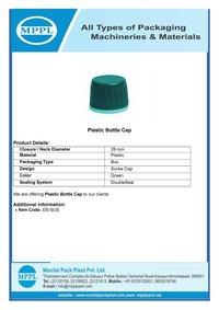 Plastic Bottle Cap Green