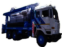 300  Meter Truck Mounted Water Well Drilling Rig