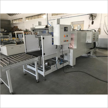 Auto Web Sealer With Shrink Tunnel Machine