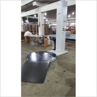 Pallet Wrapping Machine With Turn Table