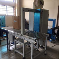 Fully Automatic Vertical Box Strapping Machine