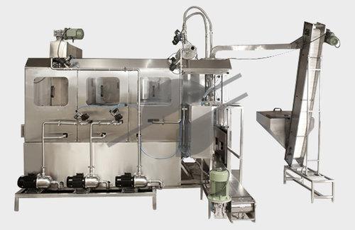 Semi Automatic Jar Washing And Filling Machine