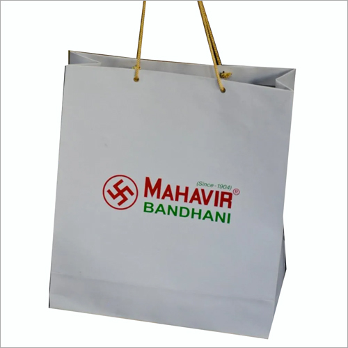 Saree Paper Printed Bag