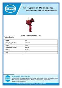 BOPP Tape Dispensers T103