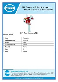 BOPP Tape Dispensers T520