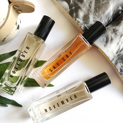 Aeronot November Perfume Spray Range