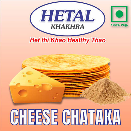 Cheese Chataka Khakhra