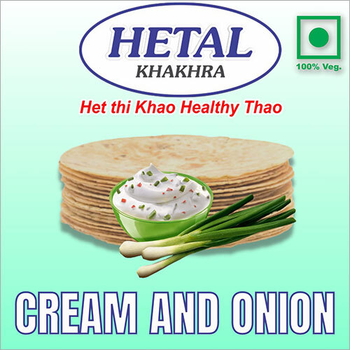 Cream Onion Khakhra
