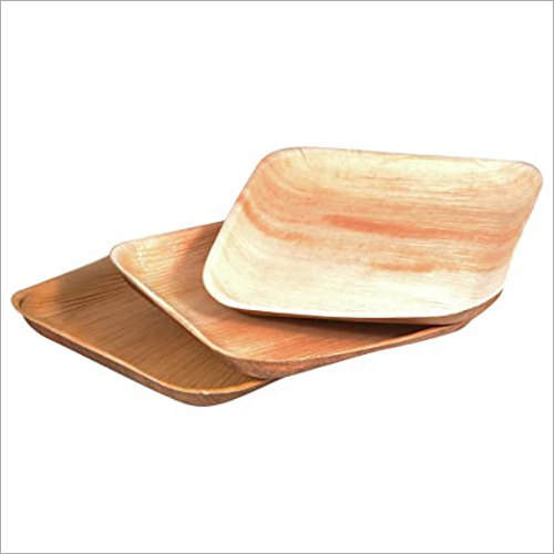 6x6 Inch Areca Leaf Square Plate