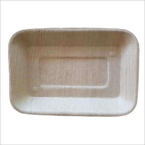 11x6 Areca Leaf Rectangle Plate