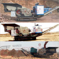 Steel Automatic Portabe Jaw Crusher Plant