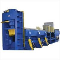 Scrap shearing machines