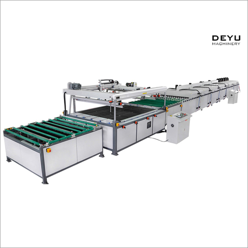 Full Automatic Flat Silk Screen Printing Machine